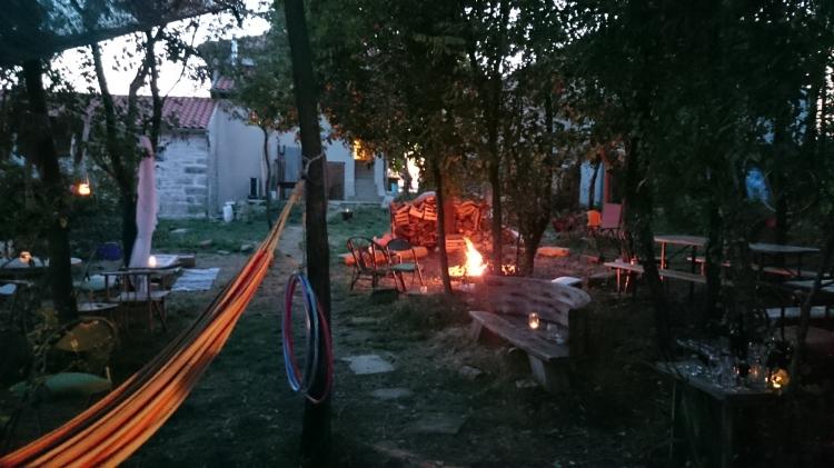 fire for the secret garden